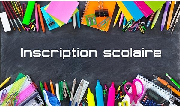Inscriptions scolaires rentrée 2020