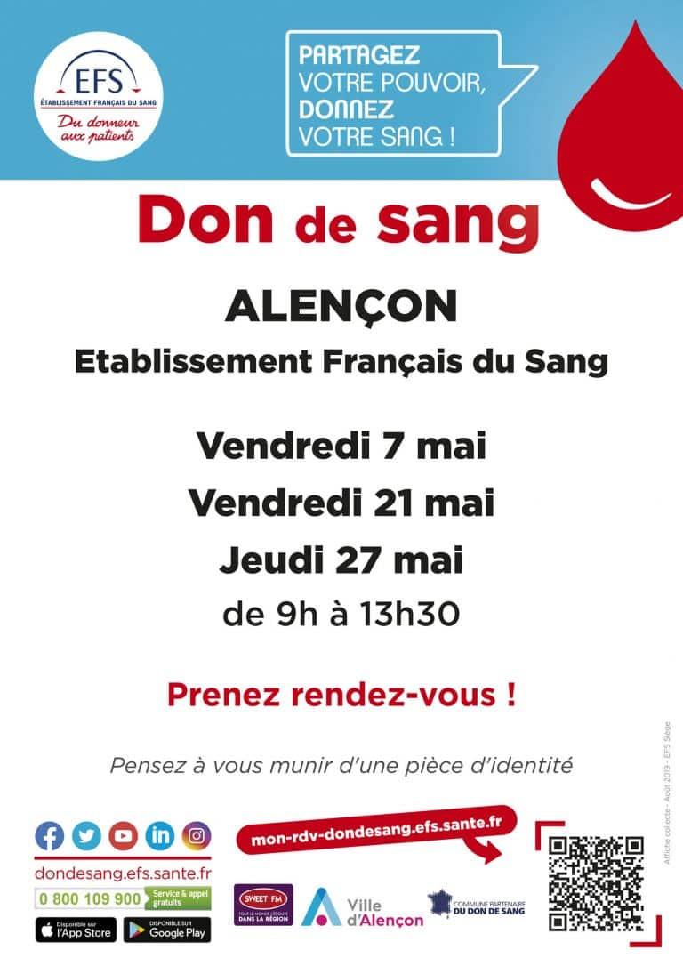 Sang : Appel aux dons !